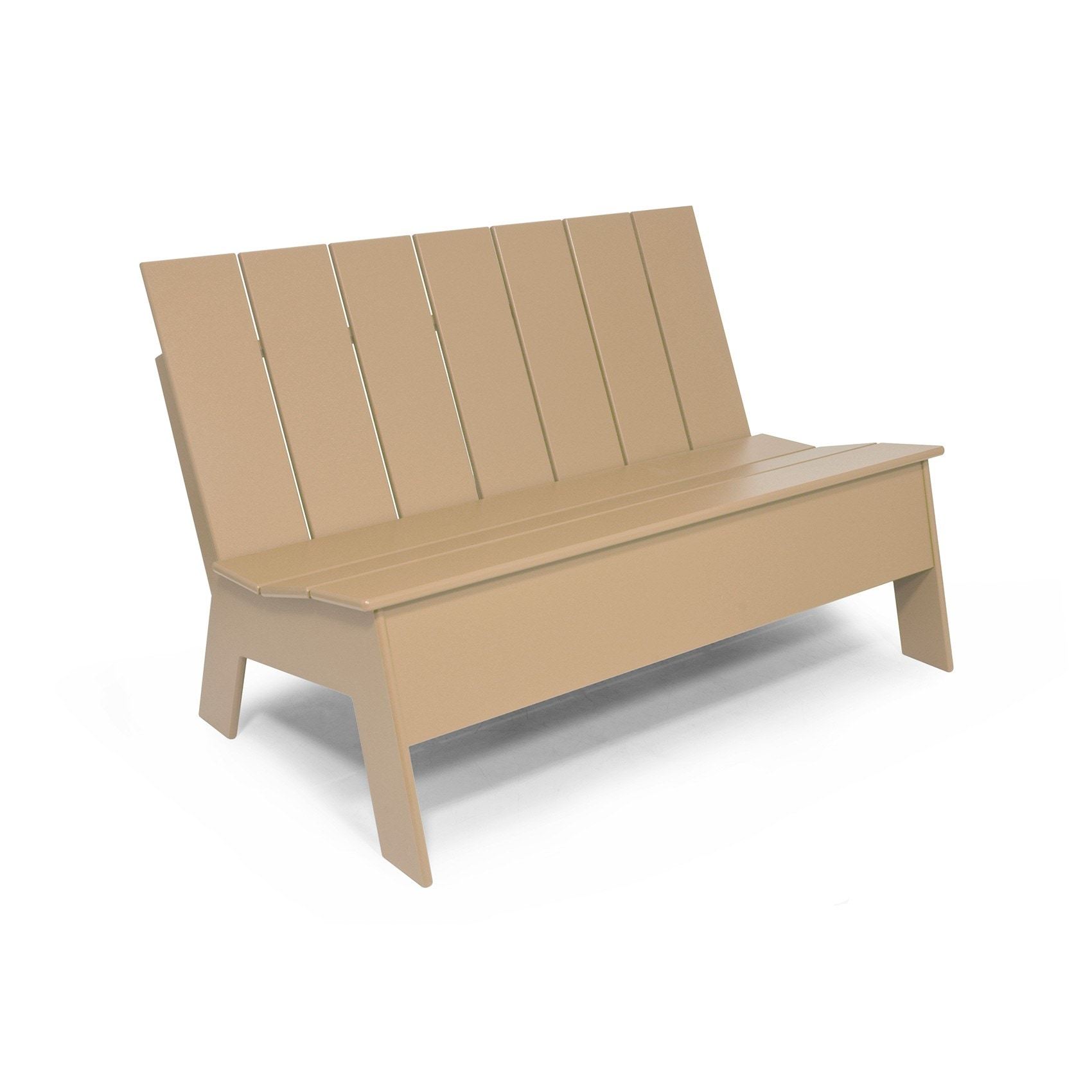 Loll Picket Low Back Double Outdoor Chair/Bench