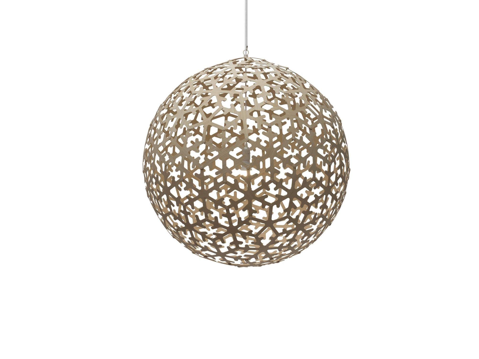 David Trubridge Pola Pendant Light