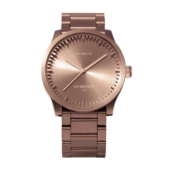 Leff Amsterdam Tube S38 Rose Gold Watch
