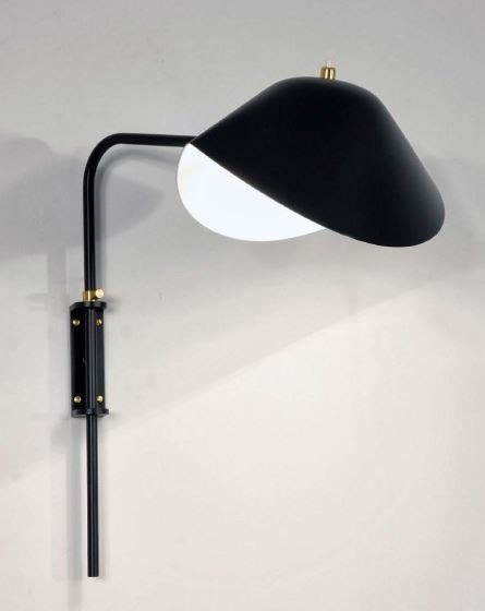 Serge Mouille Antony Small Wall Lamp