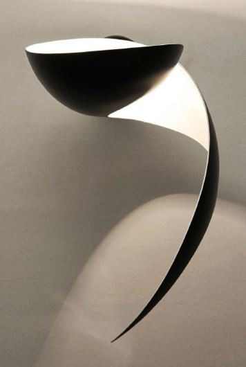 Serge Mouille Flame Small Wall Lamp