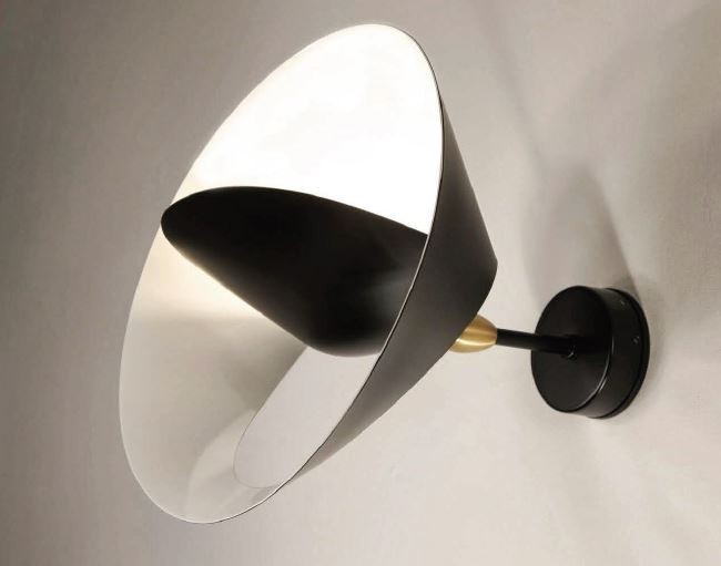 Serge Mouille Saturnus Small Wall Lamp