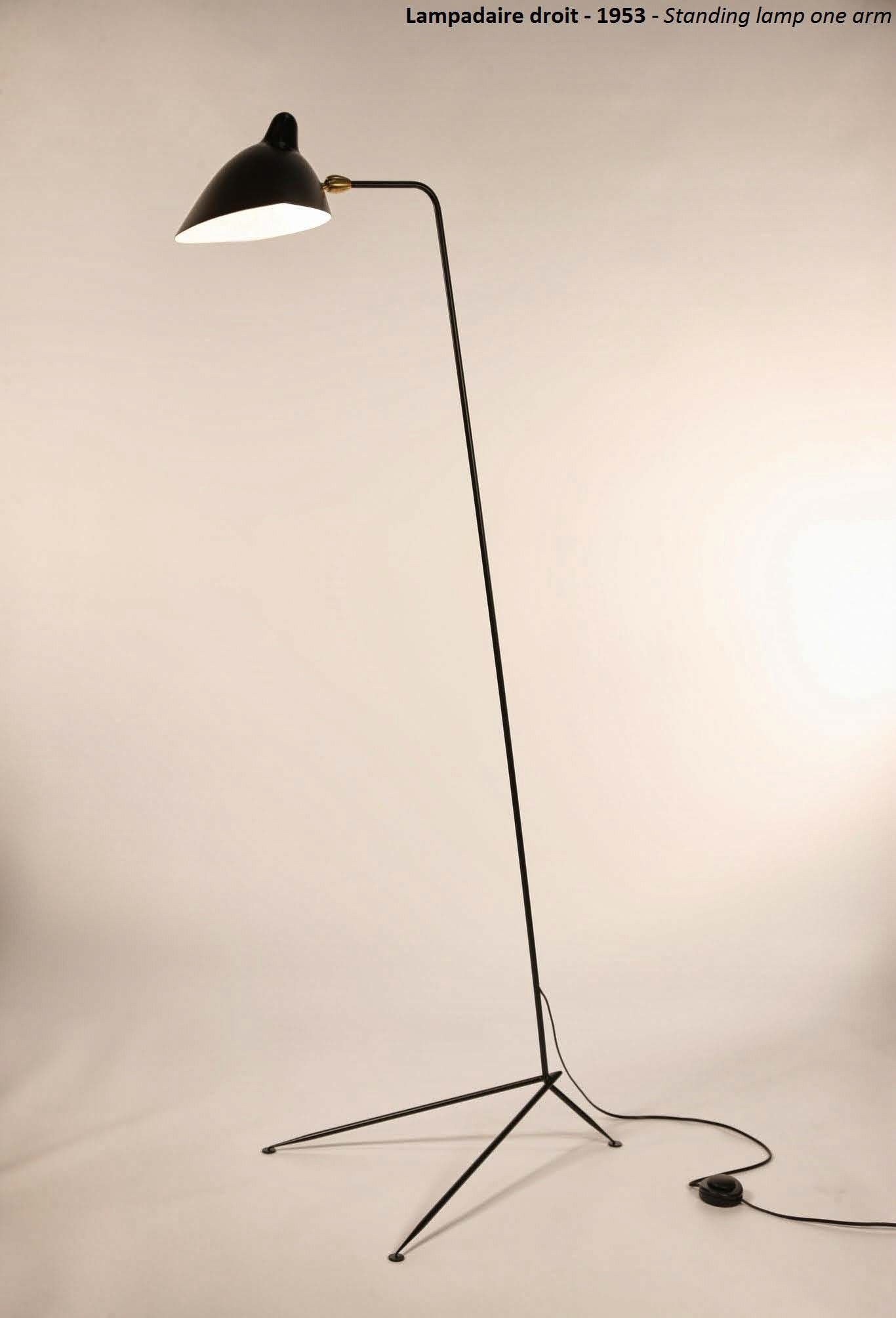 Serge Mouille Standing Floor Lamp - 1 Arm