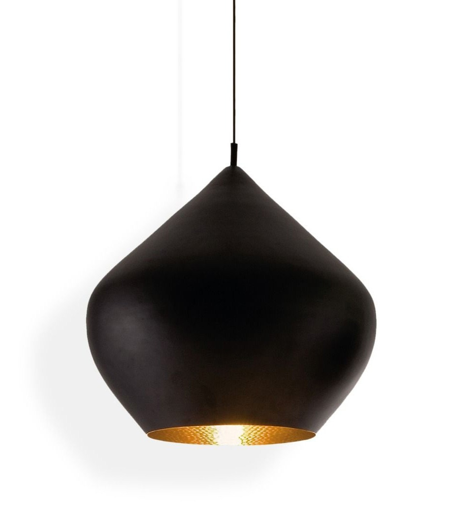 Tom Dixon Beat Stout Pendant Lamp, Black