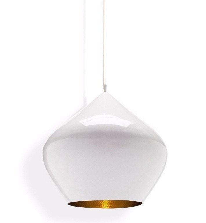 Tom Dixon Beat Stout Pendant Lamp, White