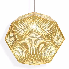 tom dixon etch 50cm pendant lamp brass modern planet - Tom Dixon Lighting
