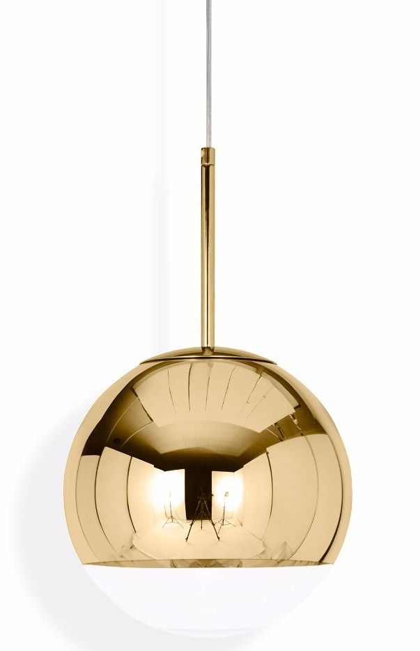 Tom Dixon Mirror Ball Gold Pendant Lamp