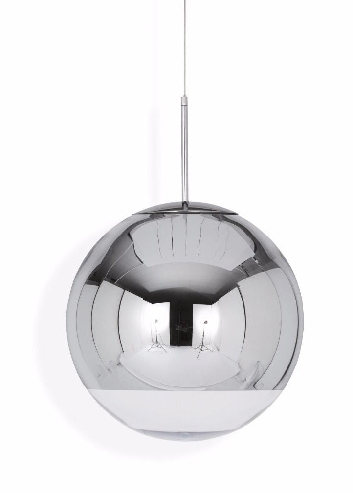 Tom Dixon Mirror Ball Chrome Pendant Lamp