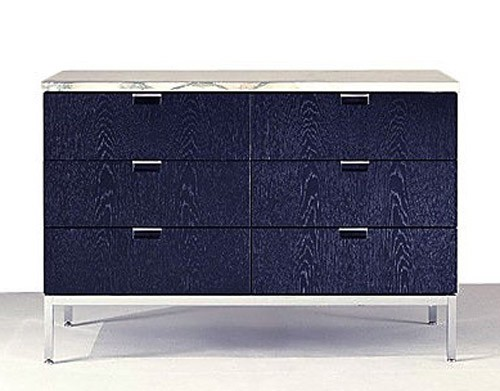 Knoll Florence - Credenza - Two Position (Six Box Drawers)