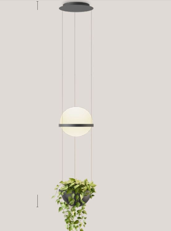 Vibia Palma Pendant Lamp with Planter