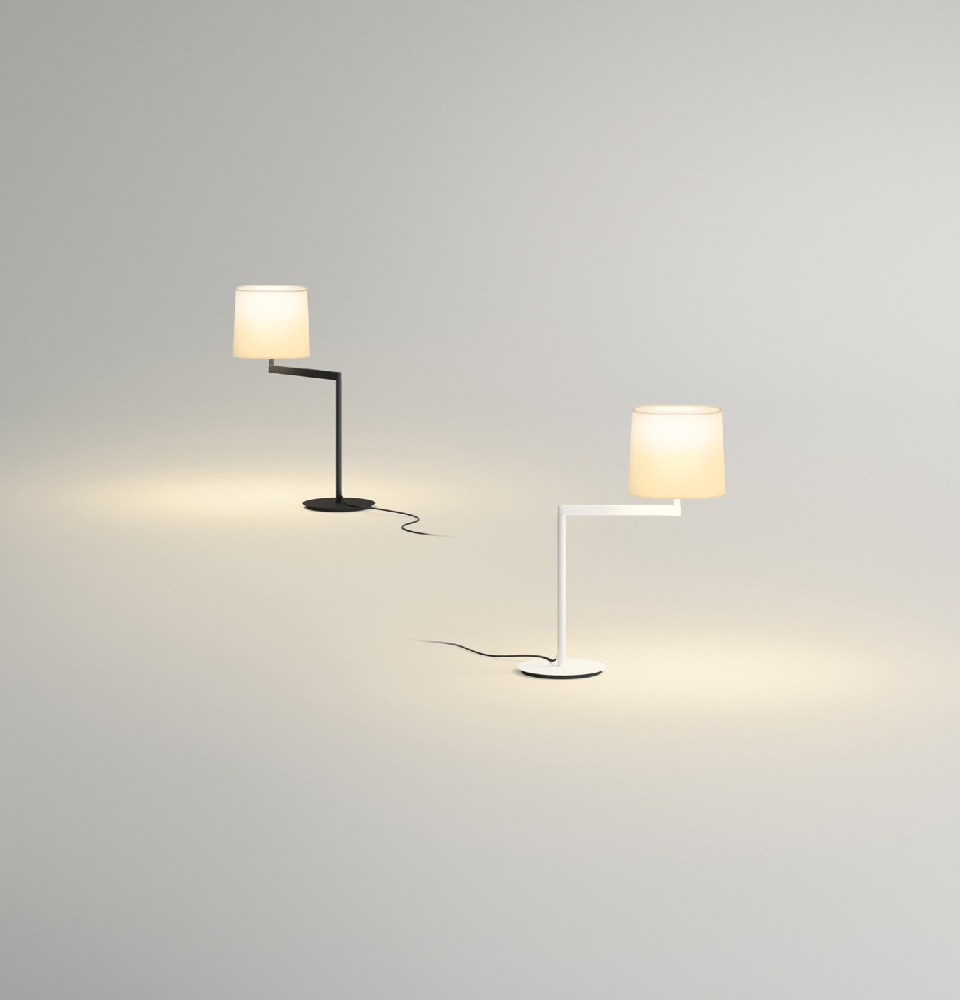 Vibia swing table lamp modern planet swing table lamp 1 geotapseo Gallery