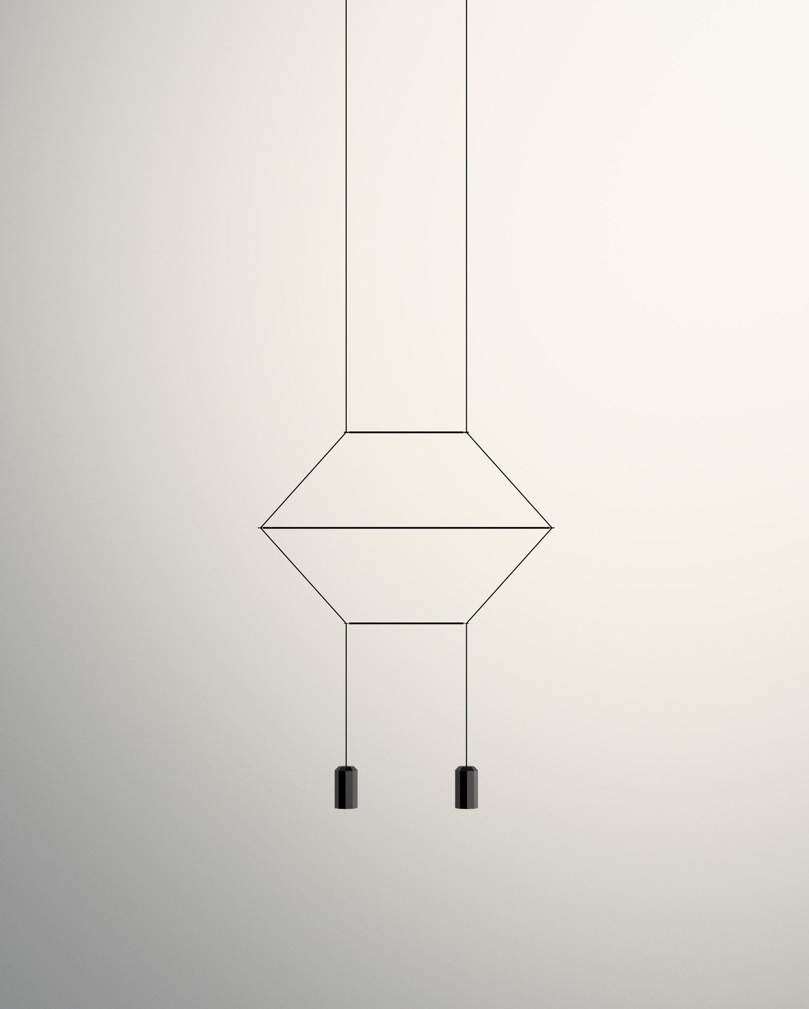 Vibia wireflow 2d 2 light pendant lamp modern planet arubaitofo Gallery