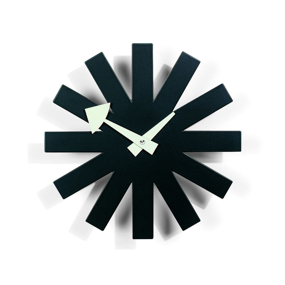 vitra george nelson clock  asterisk clock  modern planet -