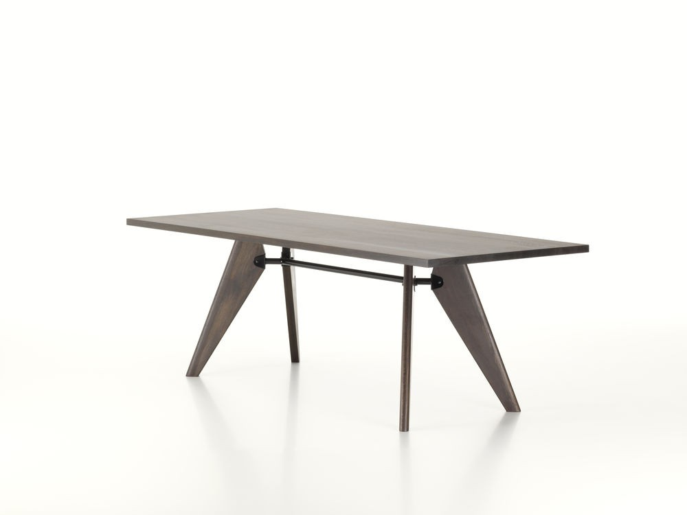vitra jean prouve solvay table. Black Bedroom Furniture Sets. Home Design Ideas