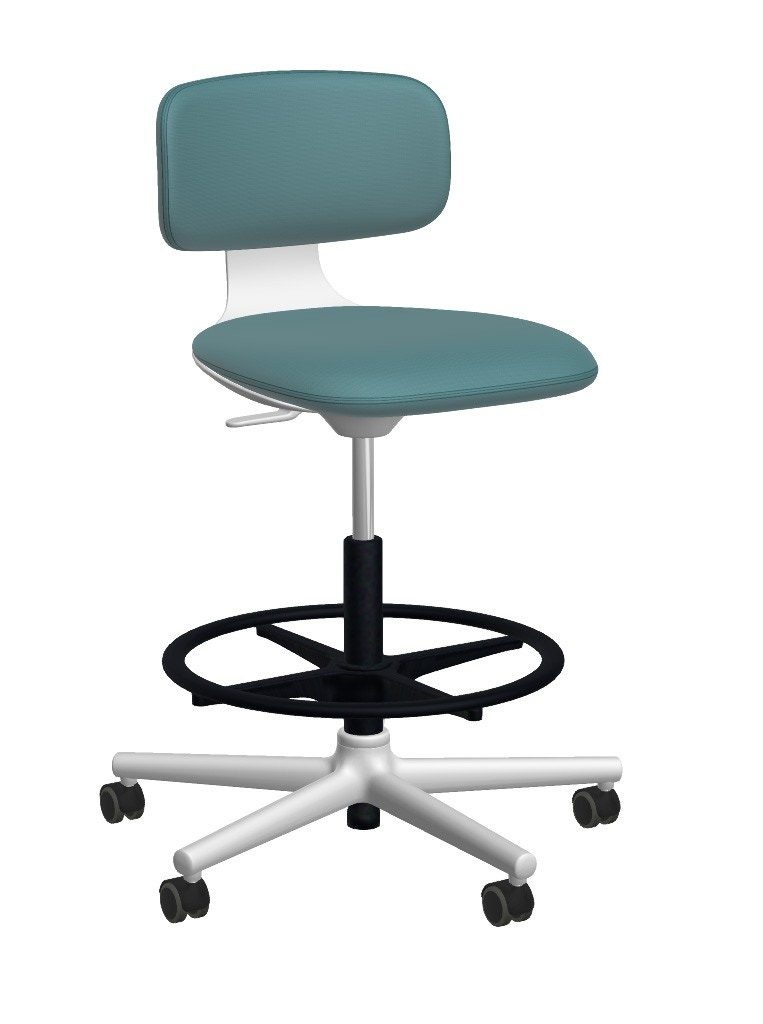 Vitra Rookie High Swivel Base Office Chair