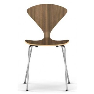 Cherner Metal Base Side Chair