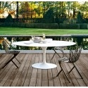 Knoll Saarinen - Oval Dining Table, Outdoor