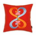 Vitra Embroidered Pillow - Double Heart