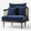 &tradition Fly SC1 Lounge Chair (Hot Madison & Harald 2 Fabric)