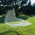 Knoll Harry Bertoia Asymmetric Chaise, Outdoor