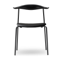 Carl Hansen & Son CH88P Dining Chair with Powder-Coated Steel Frame - Upholstered