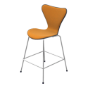 Fritz Hansen Series 7 Bar/Counter Stool (Front Upholstered)