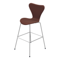 Fritz Hansen Series 7™ Bar/Counter Stool (Fully Upholstered)