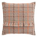 GAN Garden Layers Tartan Big Pillow