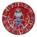 Iittala Taika Dinner Plate 27 cm, Holiday Red