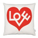 Vitra Graphic Print Pillow - Love Heart