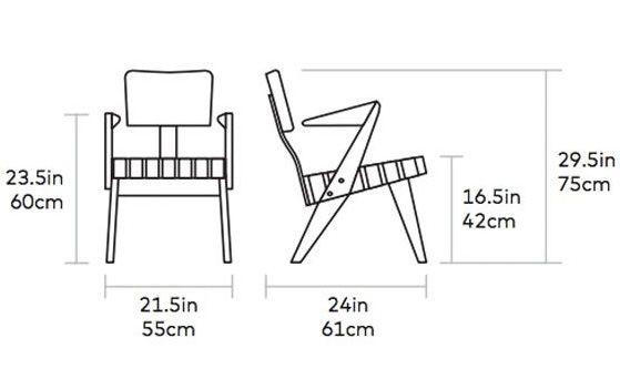 Gus* Modern Spanner Lounge Chair