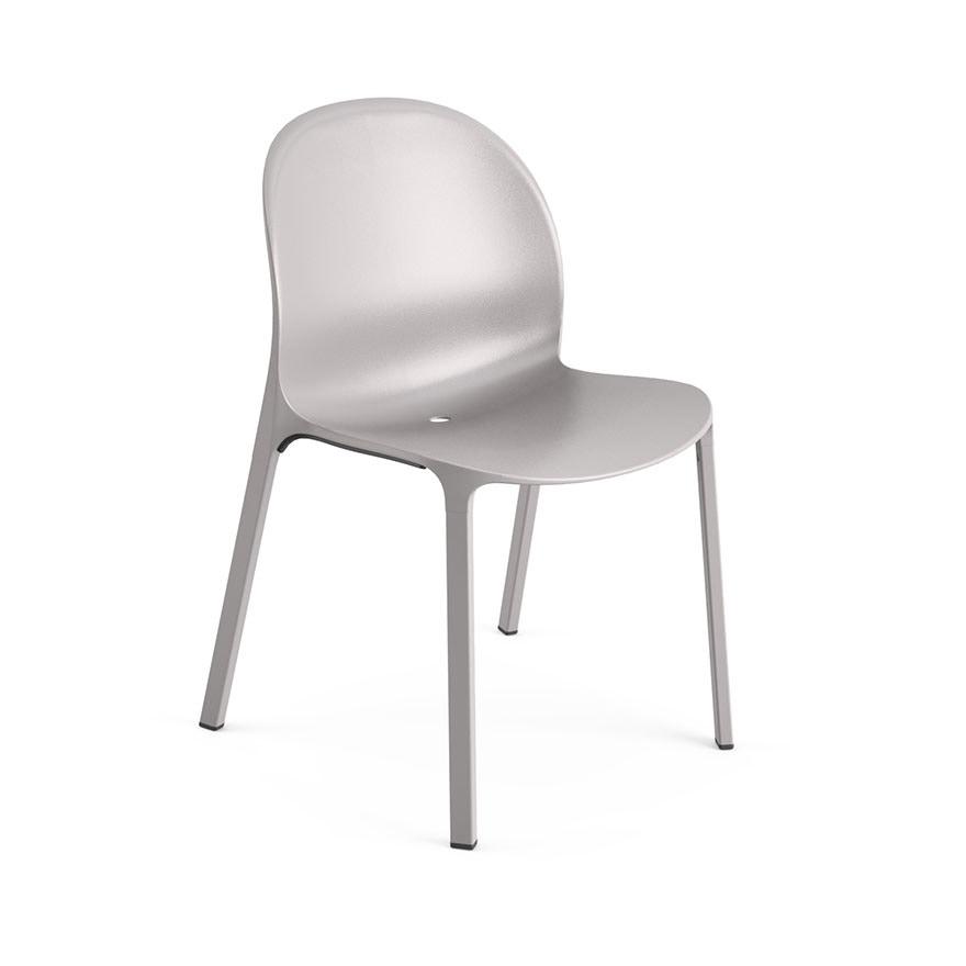 knoll jonathan olivares aluminum stacking chair modern planet