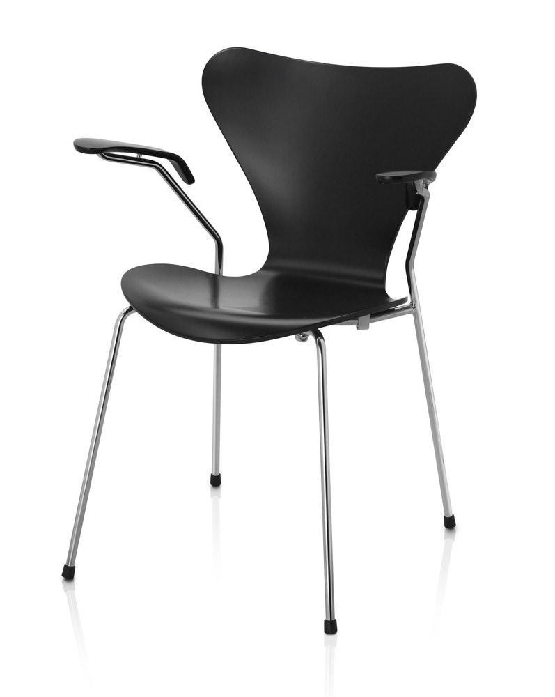 fritz hansen series 7 armchair laminated modern planet. Black Bedroom Furniture Sets. Home Design Ideas
