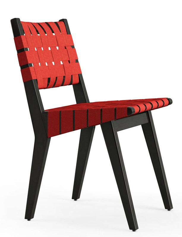 Knoll jens risom side chair webbed modern planet - Jens risom side chair ...