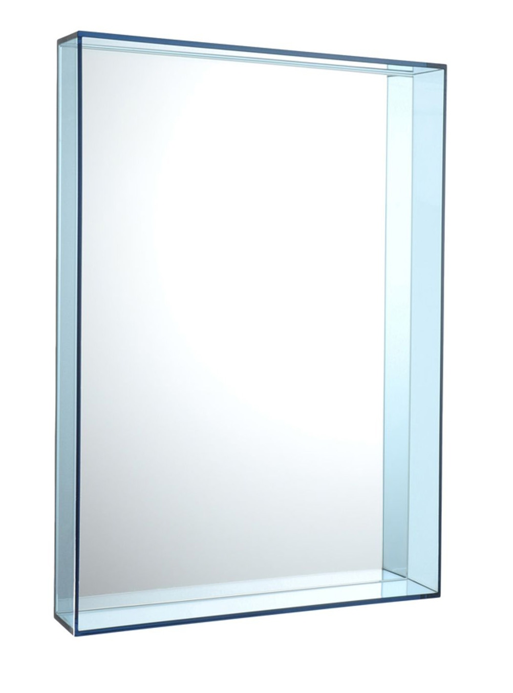 Kartell only me 50x70 mirror modern planet for Miroir 50x70