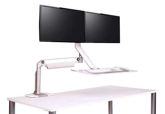 Humanscale QuickStand Lite Height Adjustable Workstation Modern Planet