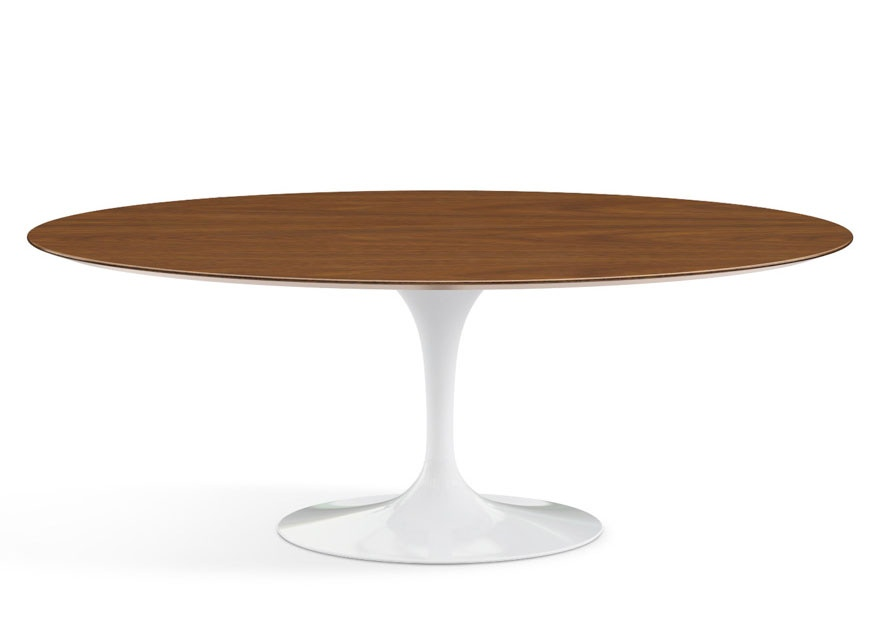 Knoll saarinen oval dining table modern planet - Saarinen oval dining table ...