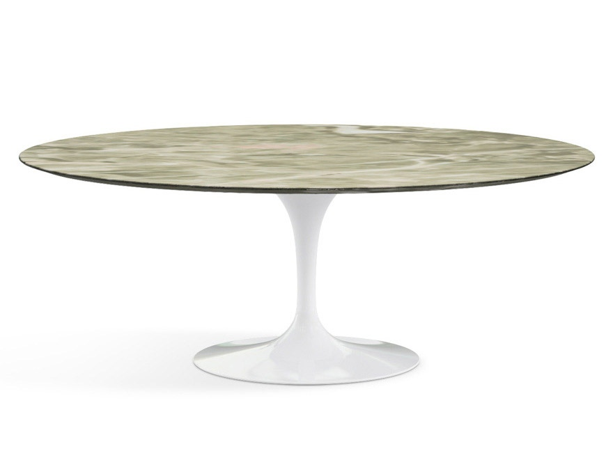 Knoll saarinen oval dining table modern planet - Oval saarinen dining table ...