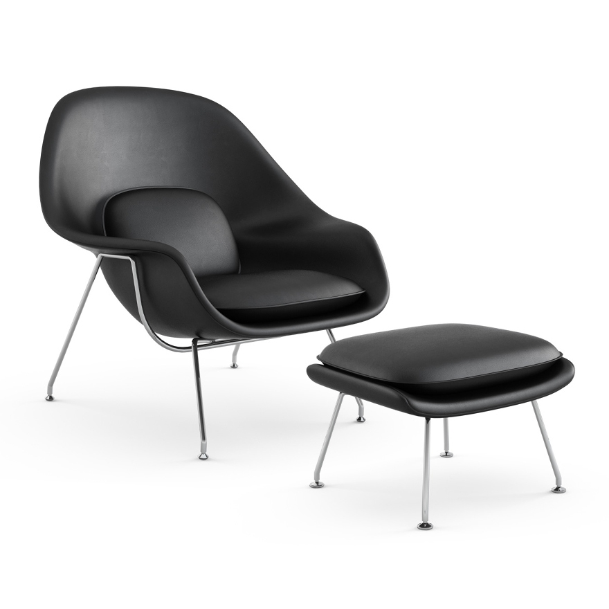 Knoll Eero Saarinen Womb Chair And Ottoman Modern Planet