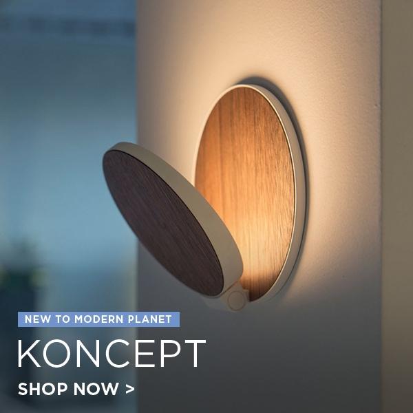 Koncept Lighting, new to Modern Planet