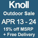 Knoll Outdoor Sale