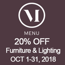Menu Furniture and Lighting Sale