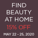 Find Beauty at Home Sale