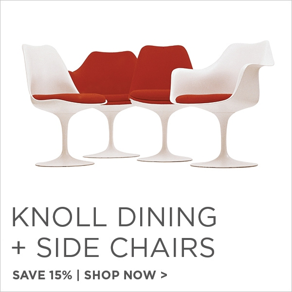 Knoll Dining and Side Chairs, Save 15%