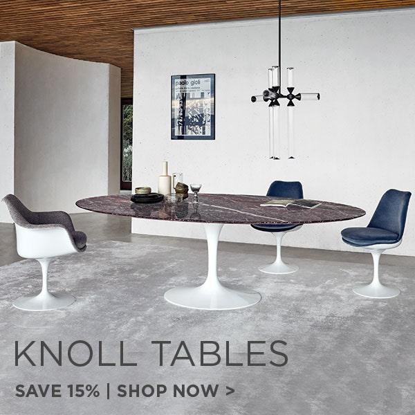 Knoll Tables, Save 15%