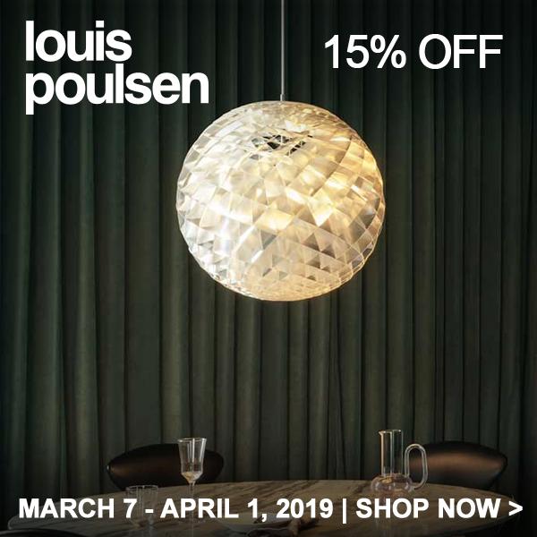 Save 15% on Louis Poulsen