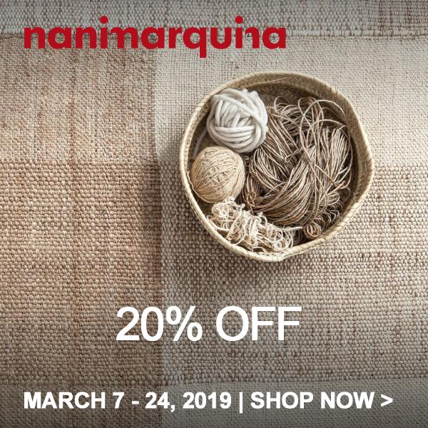 Save 20% on Nanimarquina
